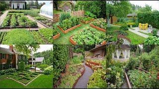 Двор сад и огород дизайн красивых участков