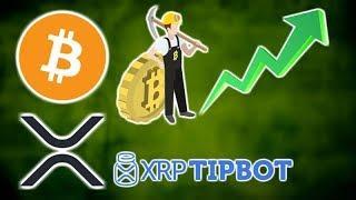 BITCOIN MINING Profitable Again! - XRPTipBot EU Banking License - 0x, Pundi X, Holochain & VeChain