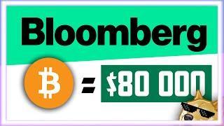 BLOOMBERG: БИТКОИН = $80 000 К 2024 ГОДУ | Биткоин Прогноз Крипто Новости | Bitcoin BTC 2020 ETH