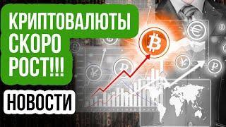 Новости КРИПТОВАЛЮТ! Рост Биткоин, XRP и ETH уже на следующей неделе! новости BTC