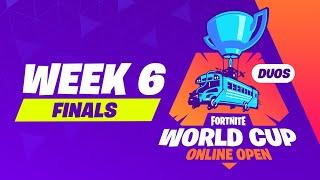 Fortnite World Cup - Week 6 Finals