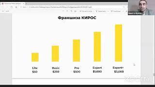 """КИРОС, Открытая встреча: """"Партнерская программа"""" Никита Кречетов 01 10 2020"""