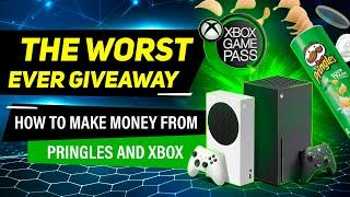 THE WORST EVER GIVEAWAY - Pringles & Xbox Create perfectly balanced Infinite Money Giveaway Exploit