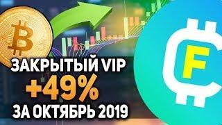 Биткоин Как Сделать Профит +50% на Рынке Криптовалют Отчет Октябрь 2019 Закрытая Группа CryptoFateev