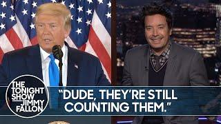 """Trump Calls 2020 Election a """"Fraud"""" Without Proof 