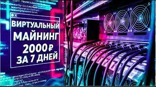 ВИРТУАЛЬНЫЙ МАЙНИНГ ОТ 2'000 рублей за 7 дней / Отчет YoBit VMining