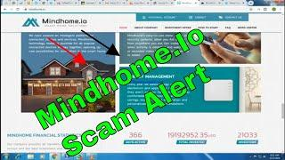 Mindhome.Io Scam Alert Latest Updats-2019 Mobile Bitcoin-You Tube Don't  Invest