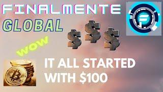 FINALMENTE GLOBAL - My Journey Started with $100!! - SCAM EXIT!! ALL GONE :(