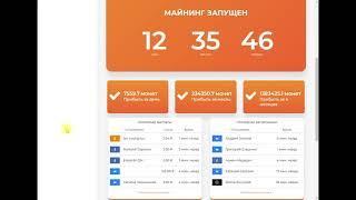 Заработок 1024 руб  в день  Обзор Rub Coin и Web Coin