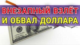 Интересное поведение доллара   Прогноз доллара. Обвал доллара. Обзор рынков. Курс доллара на сегодня