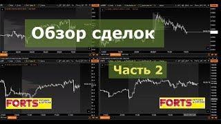 Обзор сделок  Внутридневная торговля на Московской бирже  Обучение скальпингу