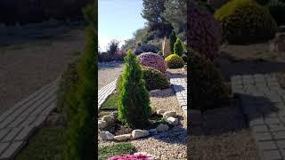 Ландшафтный дизайн. Частные сады Испании #Shorts
