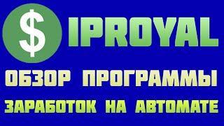 IPRoyal Pawns программа для заработка без вложений обзор и отзывы