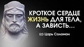 Мудрость Царя Соломона - полезно знать! Цитаты, афоризмы и притчи.
