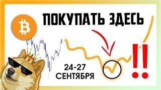 ДНО БИТКОИНА В БЛИЖАЙШИЕ 5-7 ДНЕЙ!!!    Прогноз Крипто Новости   Bitcoin BTC заработать 2021 ETH