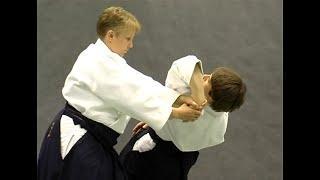 Katate dori shihonage (osae)   Справочник техник айкидо   Aikido techniques reference