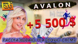 Показываю как правильно выводить с Avalon Technologies, схема РАБОТАЕТ!!! Заработано 105 000 рублей