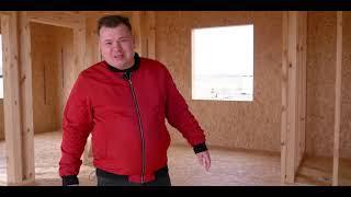 Одноэтажный дом 73 м2 с террасой 12м2 Отзыв о строительной компании ВИАЛСИП