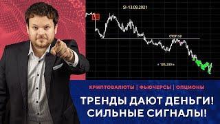 Рынок разогрет! Зарабатываем на техничных трендах! - Обзор сделок с Денисом Стукалиным