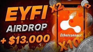 Etherconnect - AirDrop EYFI coin / Эзерконнект - аирдроп эйфи токена / последние новости / EYFISWAP
