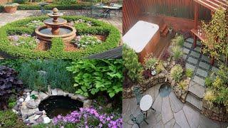 Красивый сад и комфортный двор. Идеи дизайна