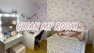 Уборка в комнате   расслабление   мотивация на уборку   clean with me