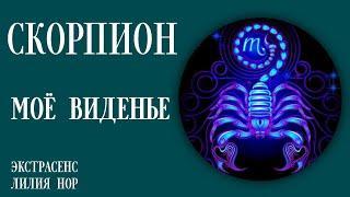 СКОРПИОН   МОЁ ВИДЕНЬЕ   ЭКСТРАСЕНС ЛИЛИЯ НОР