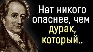 Точные Цитаты Иоганна Гёте о Людях и о Жизни. | Цитаты, афоризмы, мудрые мысли.