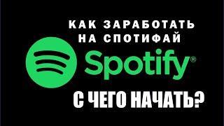 Как заработать в интернете? Пошаговая инструкция заработка на плейлистах в Spotify.
