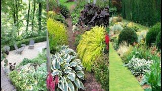 Красивый садовый дизайн для загородных участков